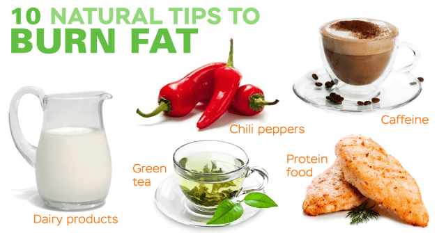 natural ways to burn fat