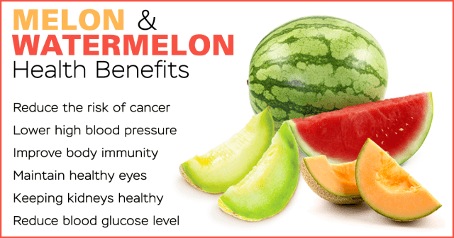 melon and watermelon benefits