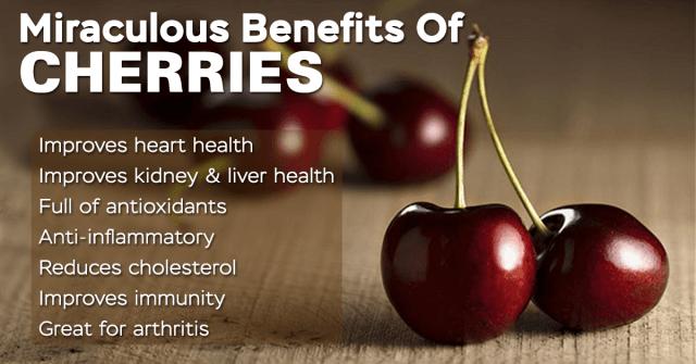miraculous cherry benefits