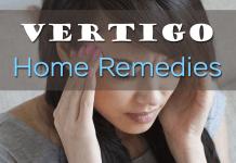 Home remedies for vertigo