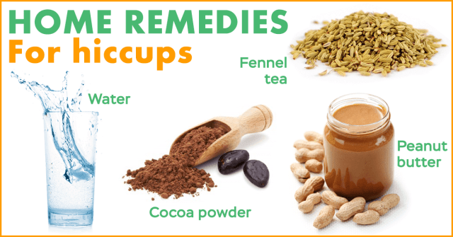 hiccups home remedies
