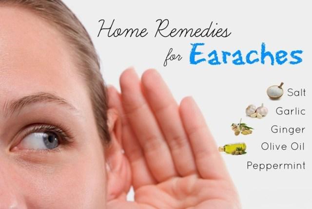 home remedy for earache