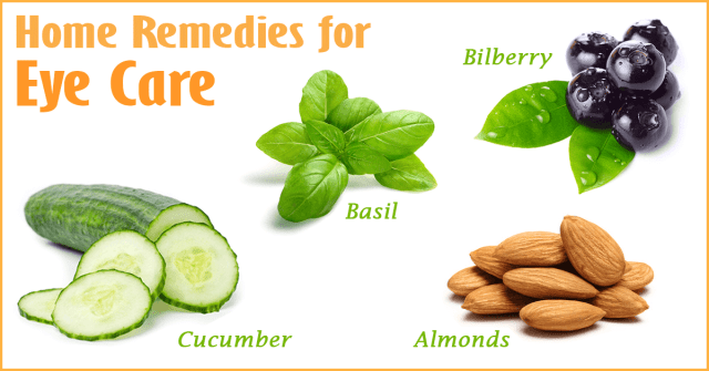 Eye care natural remedies