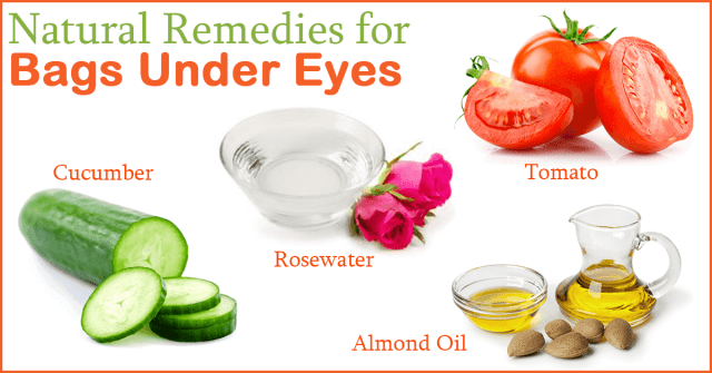 bags under eyes natural remedies