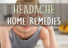 headache home remedies