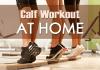 Calf Workout at home