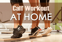 Calf Workout at home