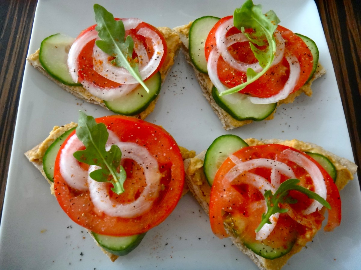 Canapé Simple Greek Hummus Canapés Healthy Happy And Whole