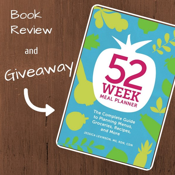 52 Week Meal Planner Giveaway! - Healthy Ideas Place