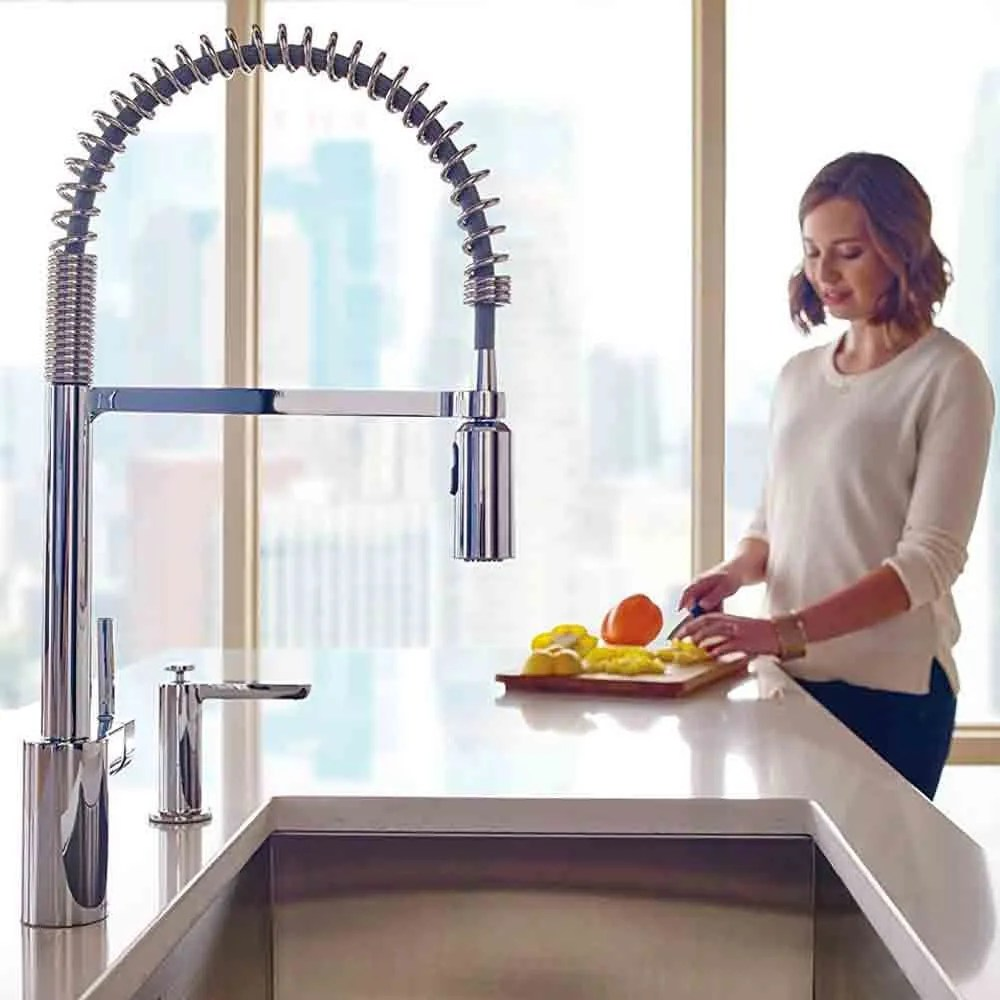 Best Kitchen Taps Best Moen Kitchen Faucets Of 2019 Reviews Buyer S Guide