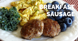 Breakfast Sausage | healthylivinghowto.com