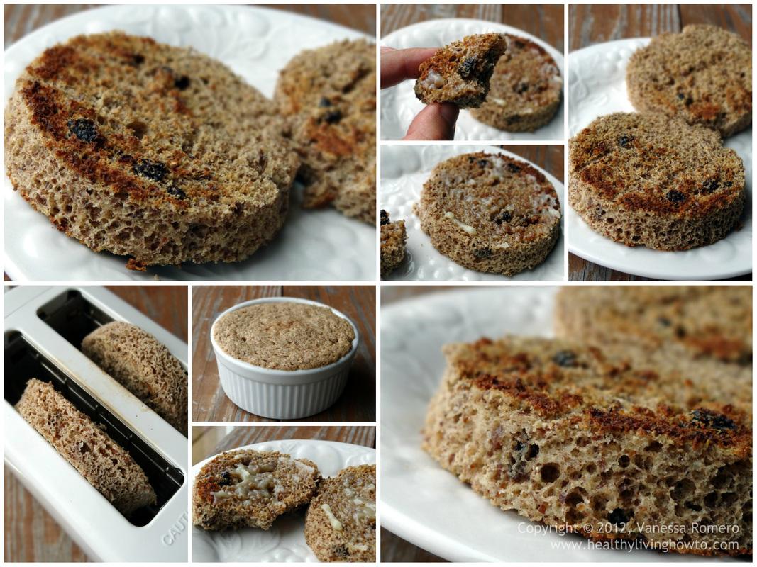 Cinnamon Raisin Two Minute Muffin Image