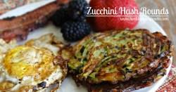 Zucchini Hash Rounds