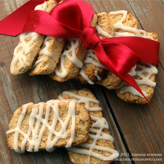 Gluten Free Vanilla Biscotti Cookies Image