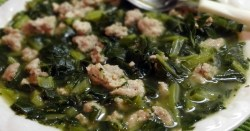 Turkey and Collard Greens Soup