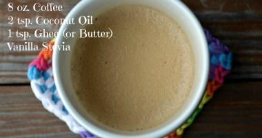 Healthy Recipe: Bulletproof Coffee
