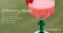 Strawberry Daiquiri Mocktail
