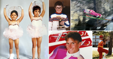 Throwback Thursday: What does a baby ballerina and a ski jumper have in common?