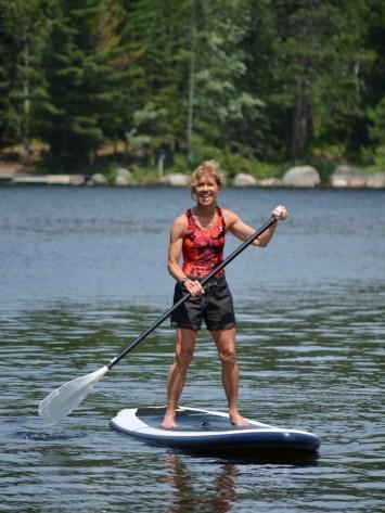 Paddle Boarding Jill