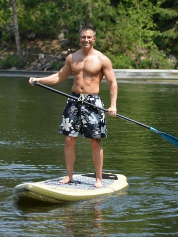 Paddle Boarding Tom
