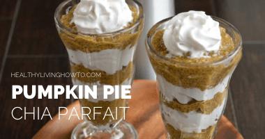 Pumpkin Pie Chia Parfait