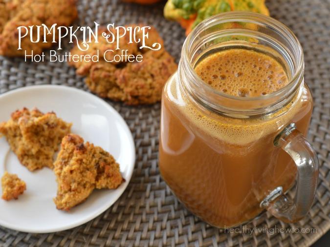 Pumpkin Spice Hot Buttered Coffee