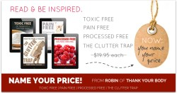 Thank Your Body Name Your Price Sale! healthylivinghowto.com