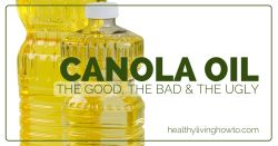 Canola Oil: The Good, The Bad, The Ugly | healthylivinghowto.com