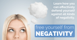 How To Free Yourself From Negativity | healthylivinghowto.com