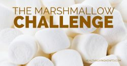 The Marshmallow Challenge | www.healthylivinghowto.com