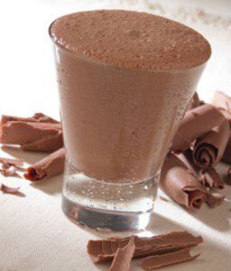 Chocolate Coconut Milkshake
