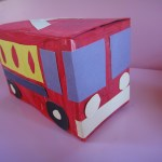 Tea Box Firetruck Craft