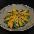 Mango Avocado Salad With Orange Dressing