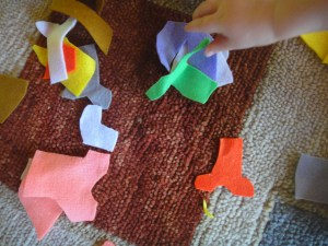Learn Colors With Laundry activity