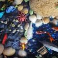 Play Dough Sensory Tub: Sea