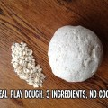 no cook oatmeal play dough