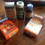 review of Wiley's Finest Wild Alaskan Fish Oil,Choc V's Vitamins, Pines Wheat Grass Powder.JPG