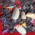 Archaeology Treasure Rocks and Sensory Tub
