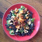 Mixed greens, Sweet Potato, Black Bean Salad