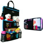 Backseat Car Organizer + Visor Organizer By Fancy Mobility