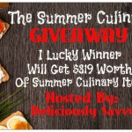 The Summer Culinary #Giveaway $400 ARV