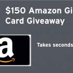 $150 Amazon Gift Card Giveaway @DROP_PRICE