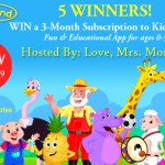 KidloLand 3-Month Subscription Giveaway! *5 Winners*