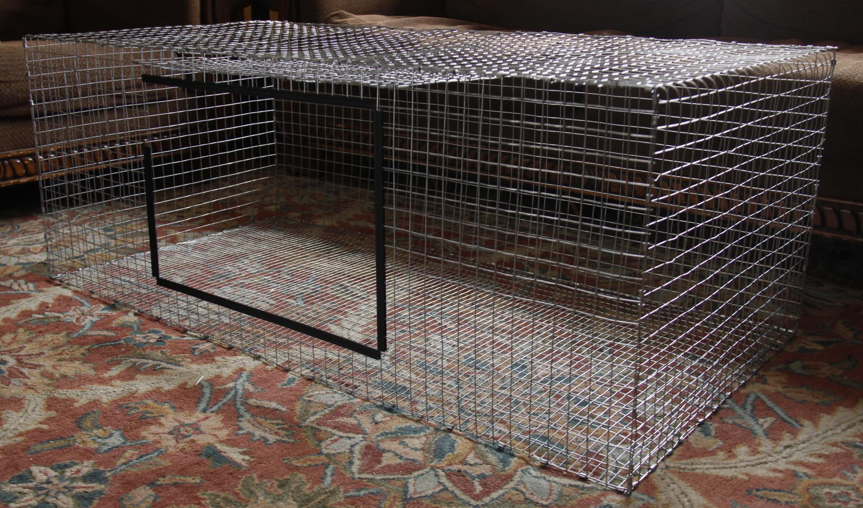 Diy Cage For Rabbit How To Build A Wire Rabbit Cage Heartfelt Angoras