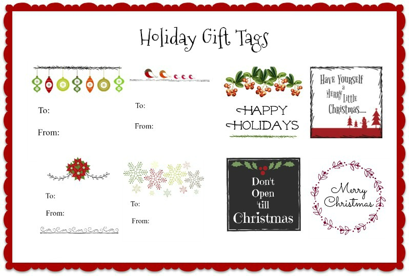 Printable Christmas Gift Tags Free Downloads You Can Use Today