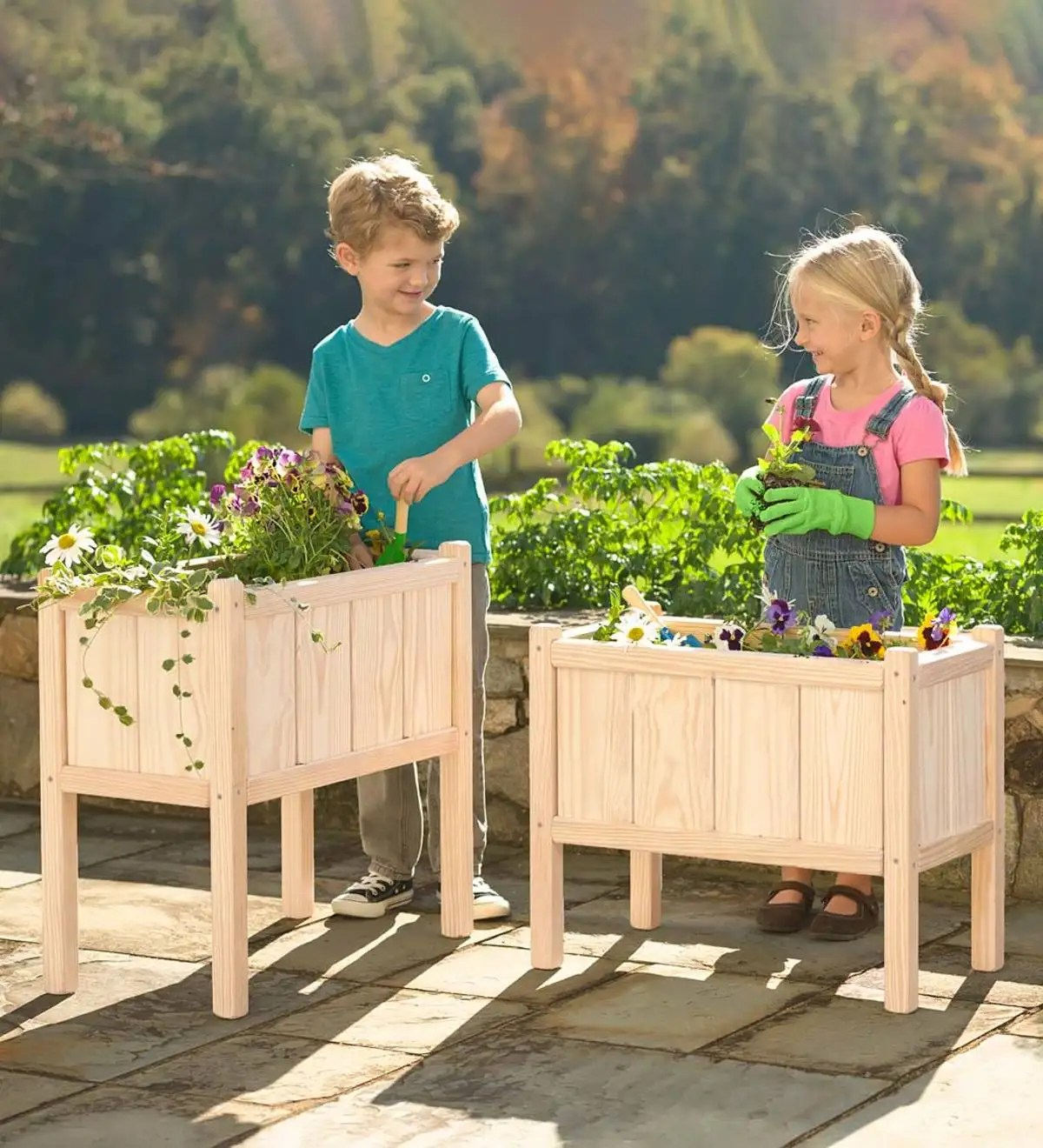Outdoor Planters Near Me Grow With Me Garden Planter Set Science Nature Shop By