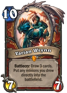 Top Quotes Wallpaper Varian Wrynn Hearthstone Heroes Of Warcraft Wiki