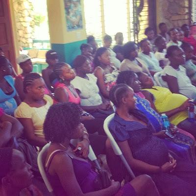 Maternity Center Class In Haiti