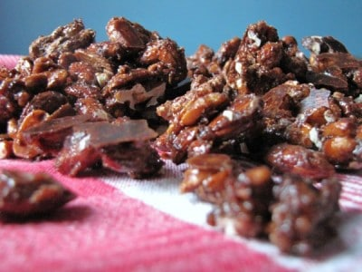 Vegan Sugar and Spice Nuts