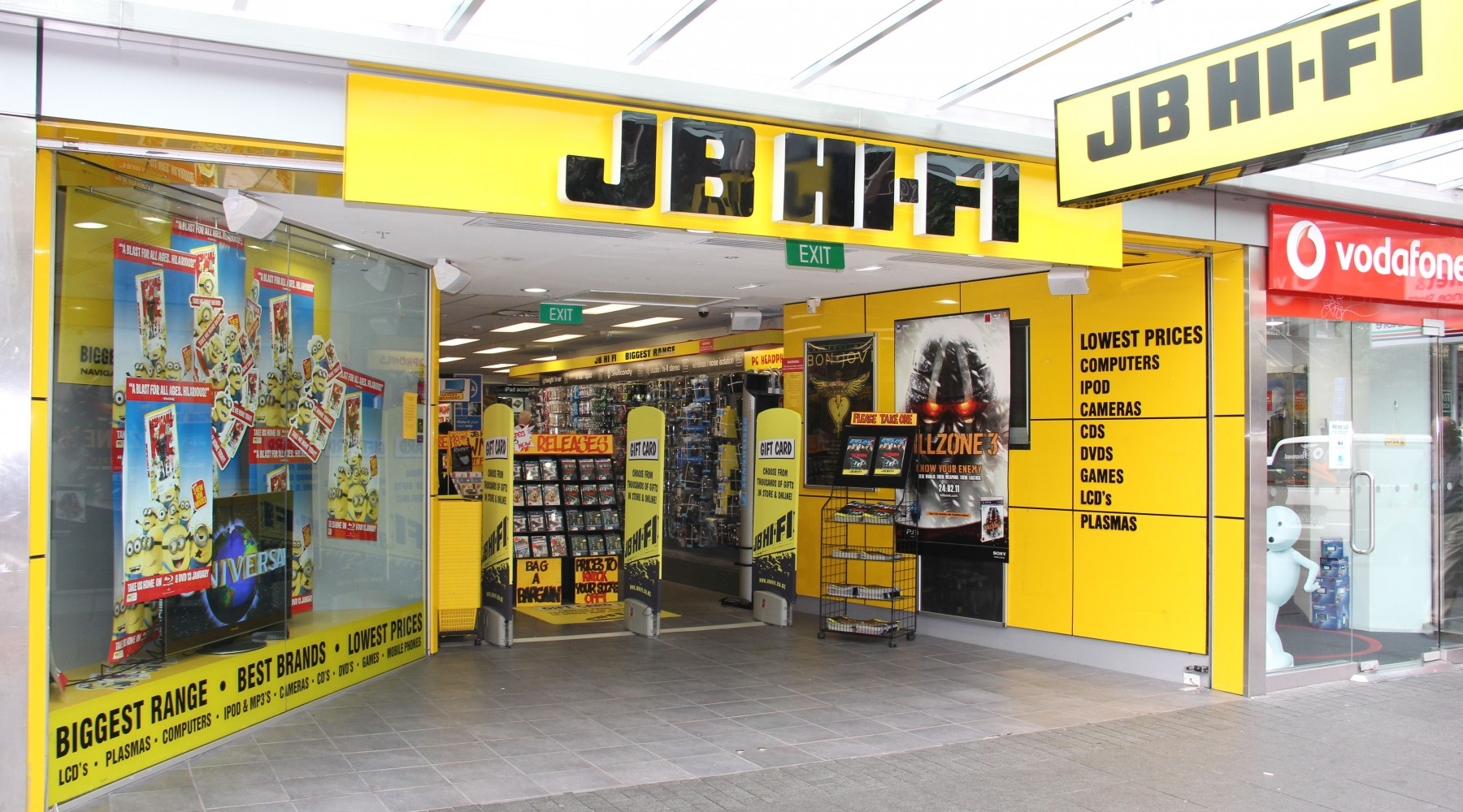 Jb Hi Fi Auckland Shopping Heart Of The City